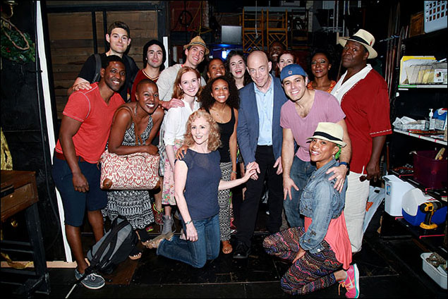 J.K. Simmons and the cast of Amazing Grace