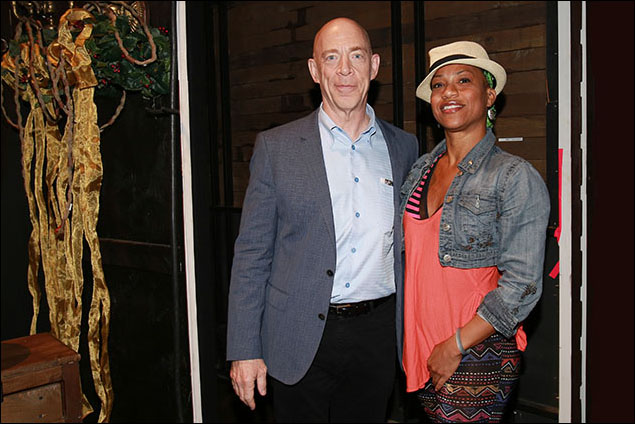 J.K. Simmons and Oneika Phillips