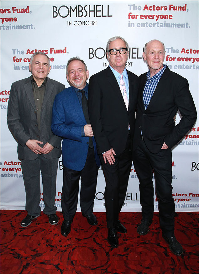 Craig Zadan, Marc Shaiman, Scott Wittman and Neil Meron