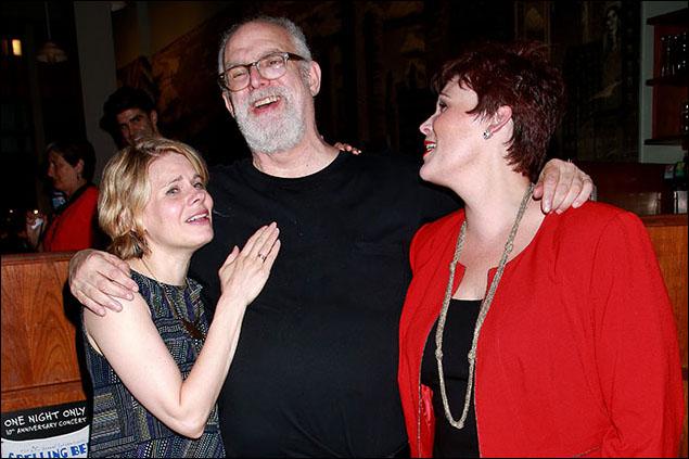 Celia Keenan-Bolger, William Finn and Lisa Howard
