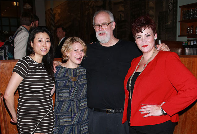 Deborah S. Craig, Celia Keenan-Bolger, William Finn and Lisa Howard