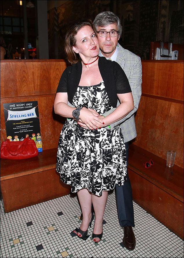 Jennifer Simard and Mo Rocca
