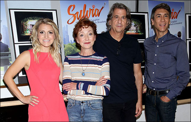 Annaleigh Ashford, Julie White, David Rockwell and Robert Sella