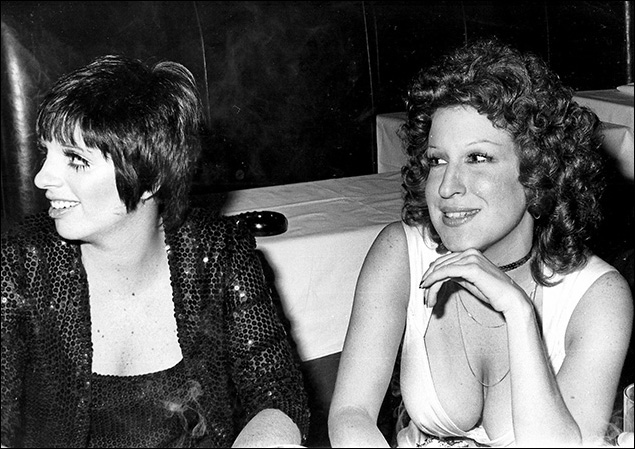 1974: Liza Minnelli and Bette Midler