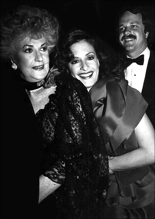 1981: Beatrice Arthur and Patti LuPone