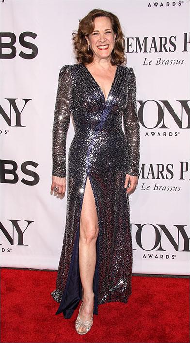 Karen Ziemba at the 2014 Tony Awards
