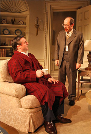 Nathan Lane and Ethan Phillips in November