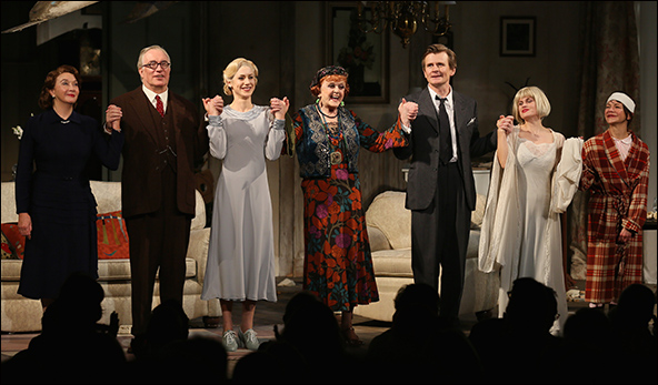 Sandra Shipley, Simon Jones, Charlotte Parry, Angela Lansbury, Charles Edwards, Jemima Rooper and Susan Louise O'Connor