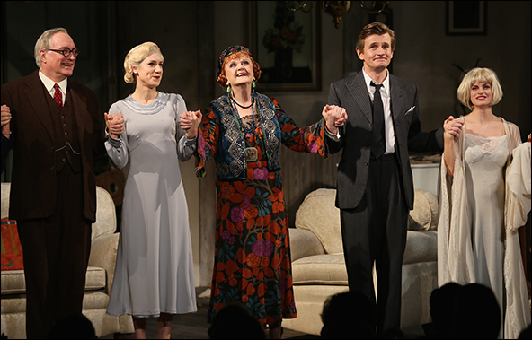 Simon Jones, Charlotte Parry, Angela Lansbury, Charles Edwards and Jemima Rooper