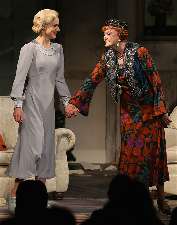 Charlotte Parry and Angela Lansbury