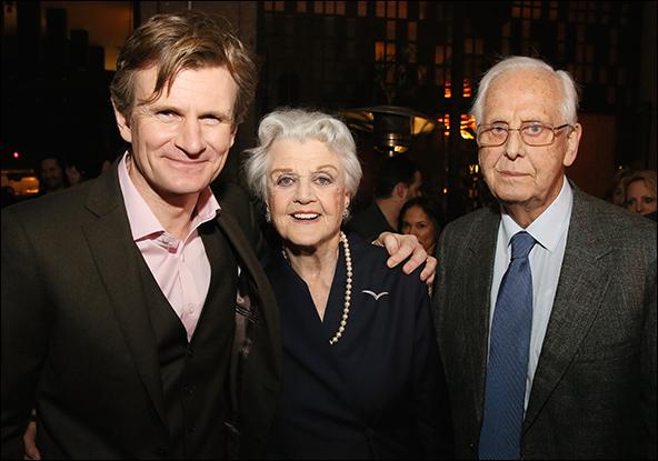 Charles Edwards, Angela Lansbury and Michael Blakemore