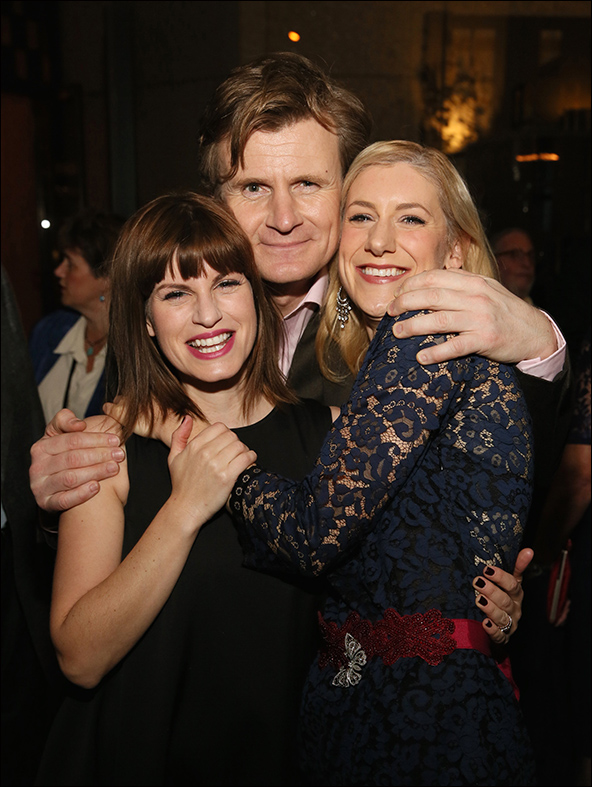 Jemima Rooper, Charles Edwards and Charlotte Parry