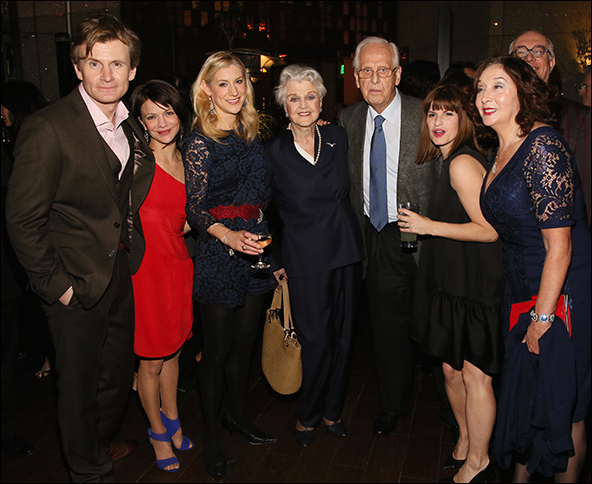 Charles Edwards, Susan Louise O'Connor, Charlotte Parry, Angela Lansbury, Michael Blakemore, Jemima Rooper, Sandra Shipley and Simon Jones