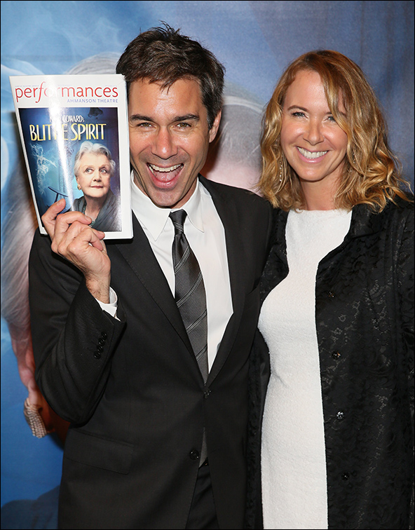 Eric McCormack and wife Janet McCormack