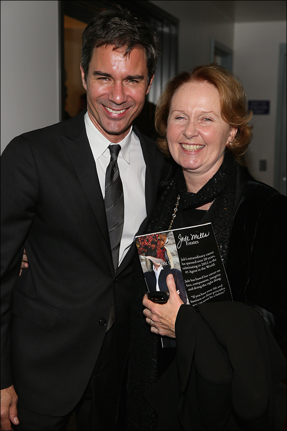 Eric McCormack and Kate Burton