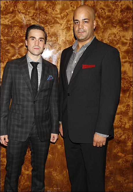 Joe Tapper and Austin Durant