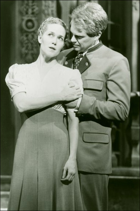 Rebecca Luker and Michael Siberry in the 1998 Broadway revival