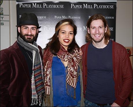 Erik Liberman, Ciara Renée and Andrew Samonsky