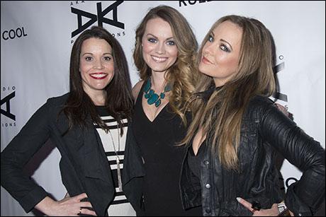 Jenna Leigh Green, Ashley Kate Adams and Ashley Arcement
