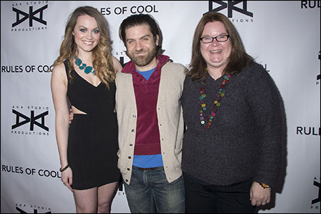 Ashley Kate Adams, Harris Doran and Penny Edmiston