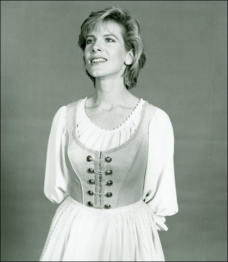 Debby Boone in the 1990 City Opera production