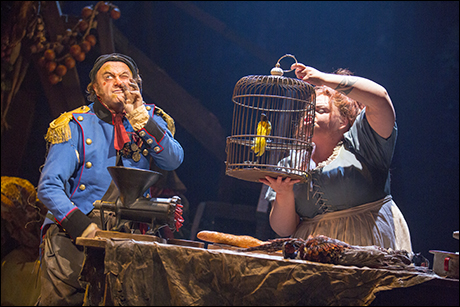 Cliff Saunders and Keala Settle in the 2014 Broadway production