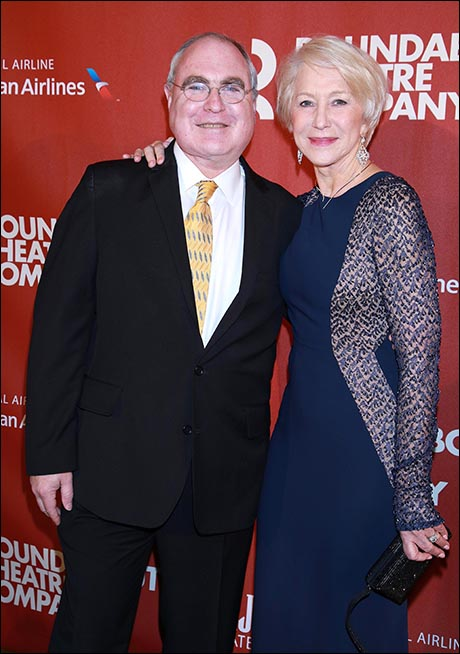 Todd Haimes and Helen Mirren