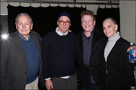 A.R. Gurney, Gregory Mosher, Ali MacGraw and Ryan O'Neal