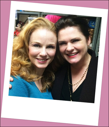 "Look! Christine and Carlotta together again! Michele McConnell was in the audience! Ya'll, if you haven't seen her in ""Phantom of the Opera"" on the Broadway...RUN!!!!"