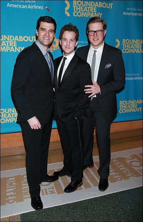 Ben Crawford, Justin Bowen and Preston Truman Boyd