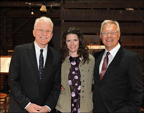 Steve Martin, Edie Brickell, and Walter Bobbie