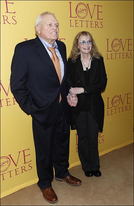 Brian Dennehy and Mia Farrow