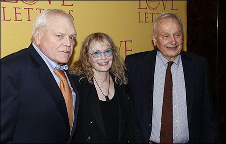 Brian Dennehy, Mia Farrow and A.R. Gurney