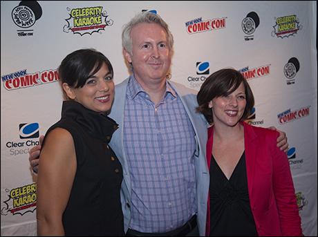 Nadia Digiallonardo, Carl Levin and Casey Hushion
