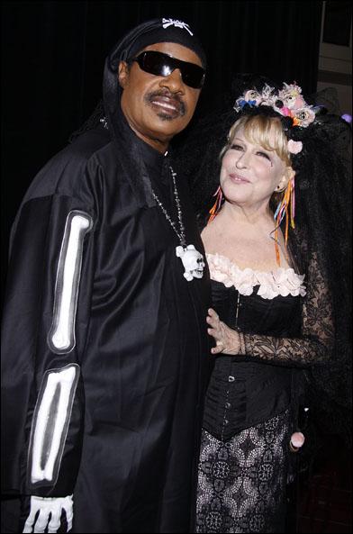 Stevie Wonder and Bette Midler, 2011