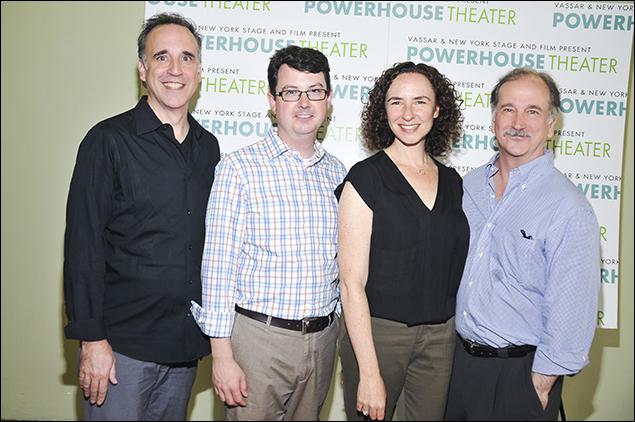 Ed Cheetham, Thomas Pearson, Johanna Pfaelzer and Mark Linn-Baker