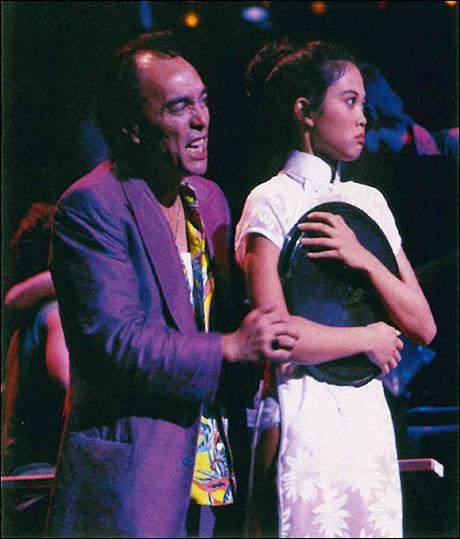 Raul Aranas and Jennie Kwan on the U.S. national tour