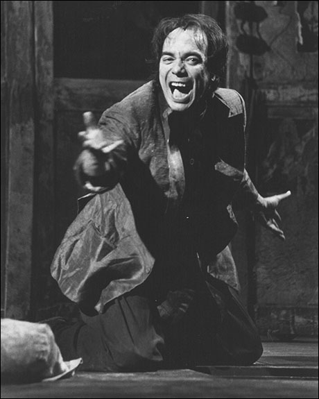 Raul Aranas in the Broadway production