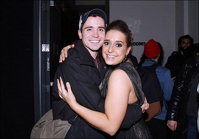Matt Doyle and Jessica Vosk