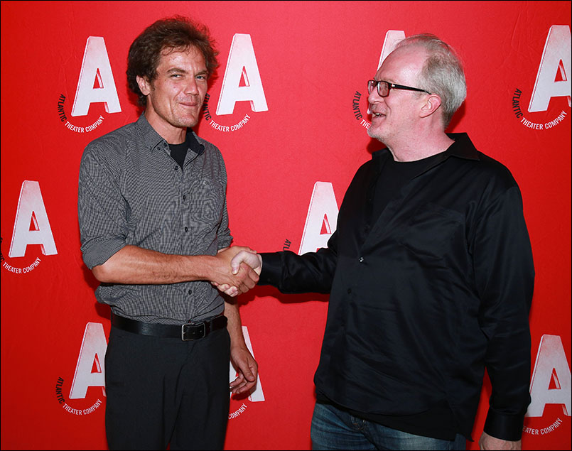 Michael Shannon and Tracy Letts