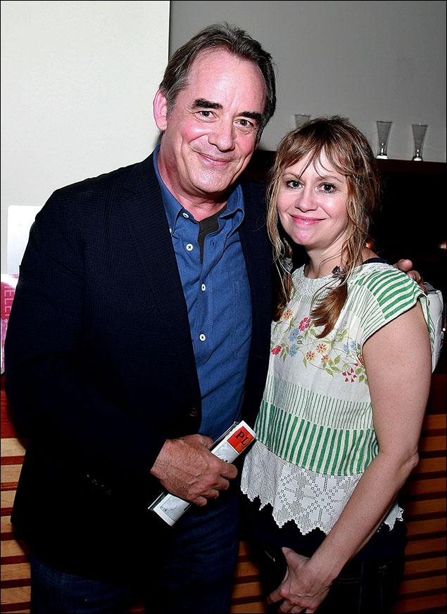 Tom Irwin and Sally Murphy