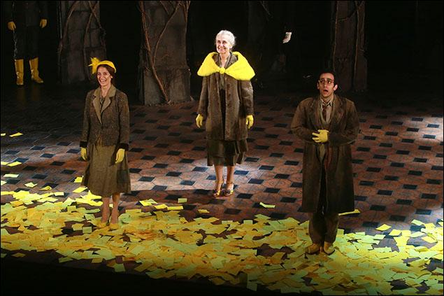 Elena Shaddow, Mary Beth Peil and George Abud