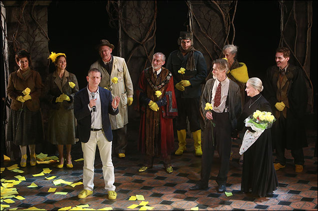 Tom Kirdahy and cast