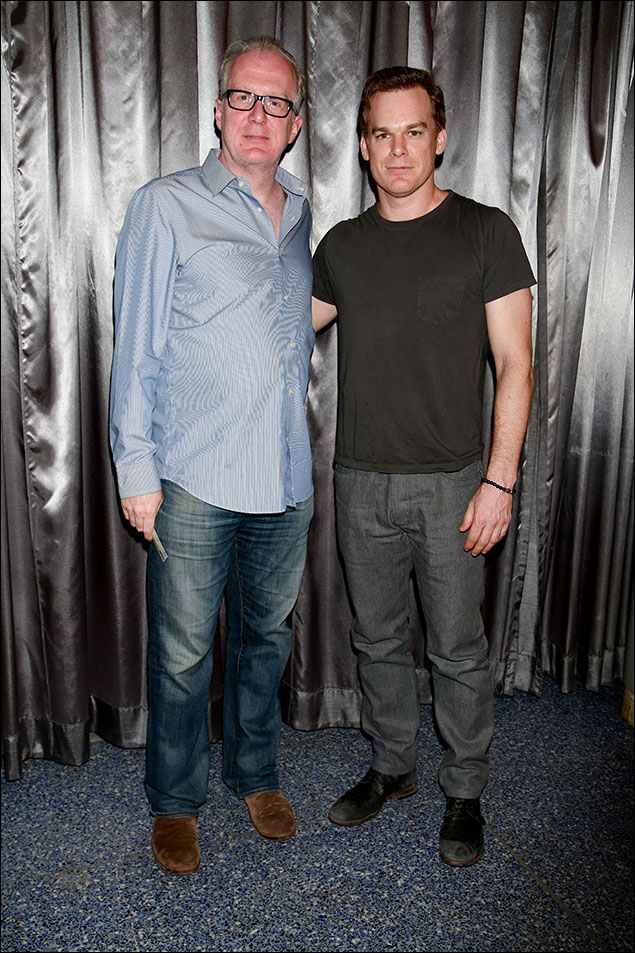 Tracy Letts and Michael C. Hall
