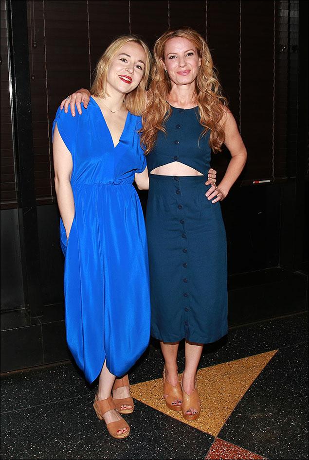 Sarah Goldberg and Kate Arrington