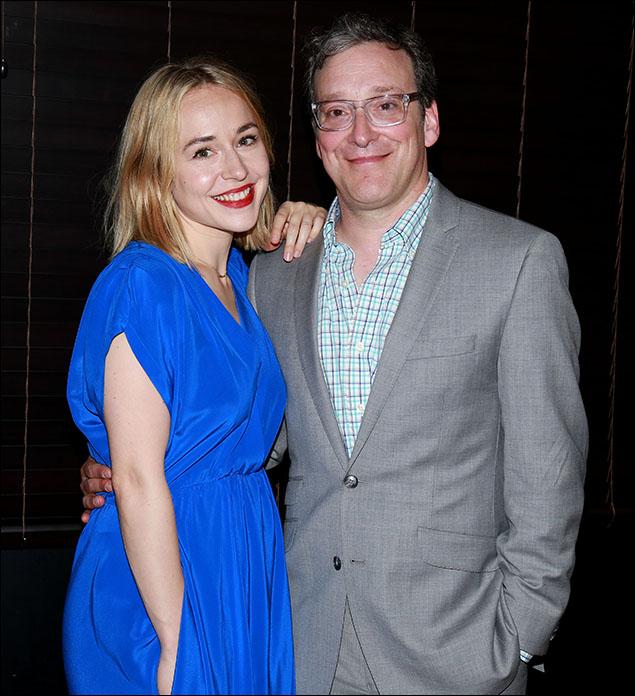 Sarah Goldberg and Jeremy Shamos
