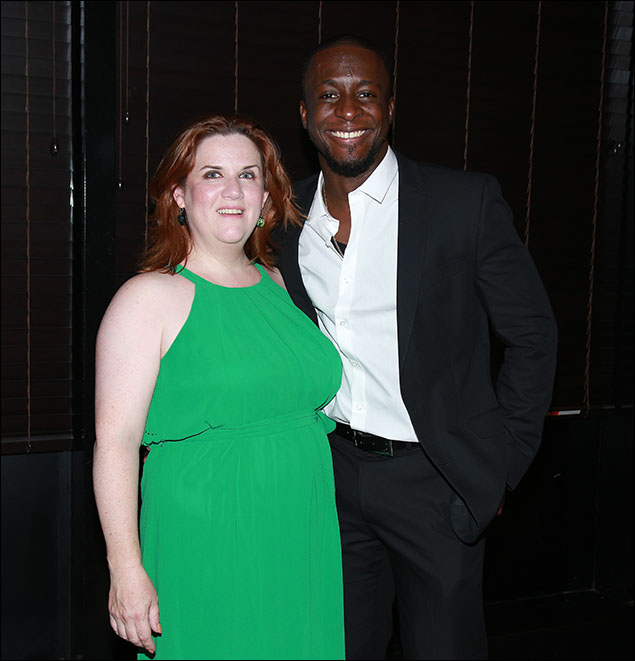 Donna Lynne Champlin and Andy Lucien
