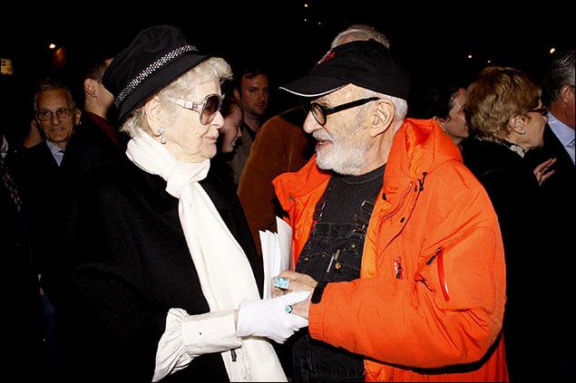 Elaine Stritch, Larry Kramer