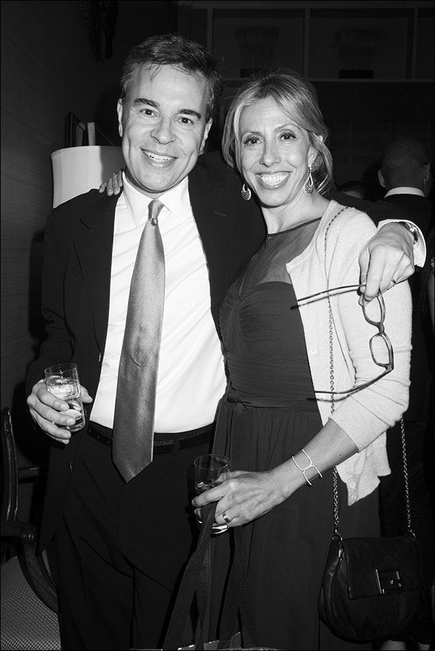 Richard Samson and Amanda Green