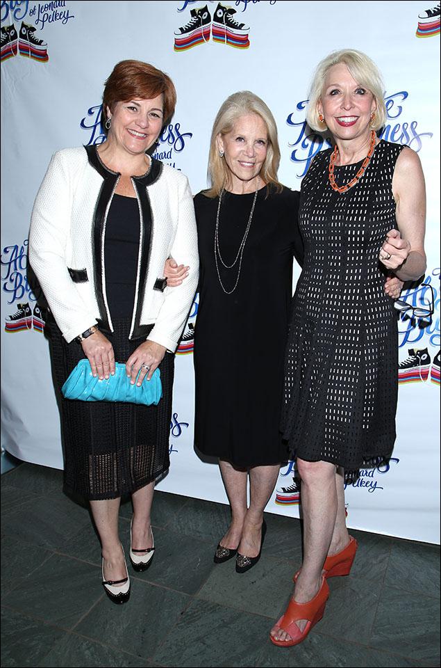 Christine Quinn, Daryl Roth and Julie Halston